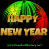 Crawford Nursery would like to take this opportunity to thank you for your past business and wish you a very Happy New Year 2016.