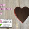 Crawford Nursery wishes you a Happy Valentine's Day! We have everything you need to create your landscaping masterpiece so please keep us in   206.640.6824